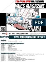 Devil Comics Magazine July 2013