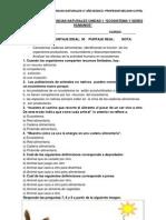 Evaluación de ciencias naturales unidad 1 capítulo 2