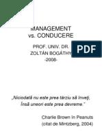1 Management vs Conducere