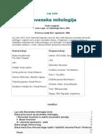 Luj Leze - Slovenska Mitologija
