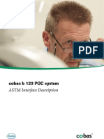 Cobas b 123 POC System - ASTM Interface Description - V2 1