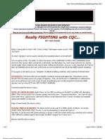 Cestari - Fighting With Close-Combat