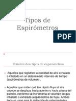 Tipos de espirómetros