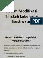 Sistem Modifikasi Tingkah Laku Yang Berstruktur