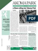 Takoma Park Newsletter - July 2013