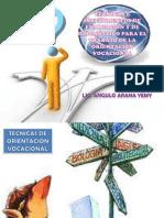 Las técnicas en el proceso de la OVP