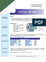 Aluminium Foil Af449