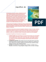 Principios fisiográficos de Venezuela