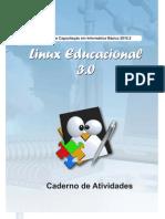 Caderno de Atividades Linux Educacional 3.0 2010.2