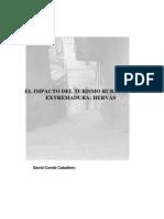 EL IMPACTO DEL TURISMO RURAL EN   EXTREMADURA