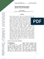 Agrikan Volume 3 Edisi 1-9-29_Umar Tangke_Ekosistem Padang Lamun (Manfaat Fungsi Dan Rehabilitas)