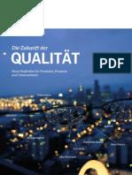 Leseprobe Zukunft der Qualität (Kooperation mit TÜV AUSTRIA Akademie GmbH)