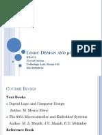 Logic Design and MicroProcessor 1