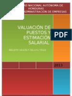 Valuación de puestos y estimación salarial