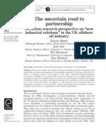 Las Nuevas Relaciones Industriales