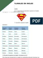 Los Plurales en Ingles