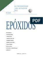 temario de epóxidos y aldehidos