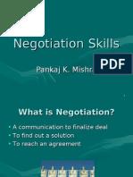 Negotiation PK