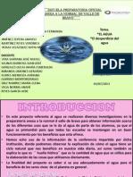 3ll Vespertino Proyecto Del Agua Equiipo 3