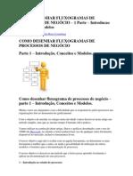 COMO DESENHAR FLUXOGRAMAS DE PROCESSOS DE NEGÓCIO