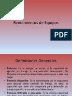 Rendimientos de Maquinaria.pptx
