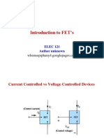 JFET Overview