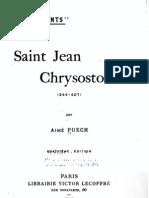 Vie de Saint Jean Chrysostome