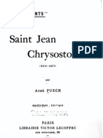 Vie de Saint Jean Chrysostome
