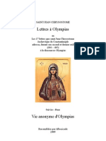 Lettres a Olympias