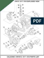 Catalogo de partes compresores de A/C.