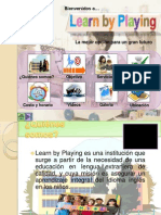 Learn by Playing-publicidad