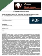 ACOMPANHAMENTO DA VIDA ÚTIL DE BEBIDAS LÁCTEAS
