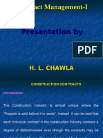 Construction Contract Maagement