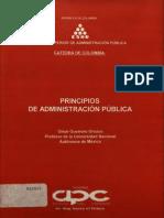 Principios de La Administracion Publica
