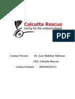 Calcutta Rescue Report NGO