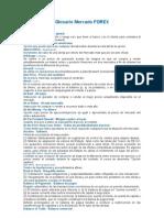 Glosario Mercado FOREX[1]