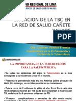 SITUACION DE LA TBC CAÑETE YAUYOS