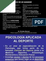 Psicologia Del Deporte III