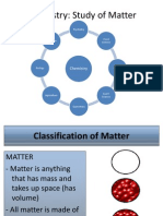 matter classification properties and laws