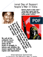 International Day of Support to the People's War in India