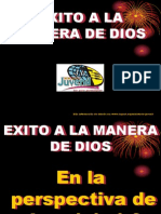 Exito a La Manera de Dios