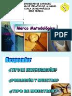 Clase Marco Metodologico Abril 2011