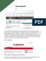PMS nominato Ernesto Monti nuovo presidente della società
