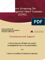 Cchd Newborn Screening