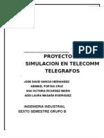 Proyecto Simulacion en Telecomm