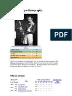 Frank Zappa Discography