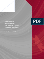130301 IPEV Valuation Guidelines Ed December 2012