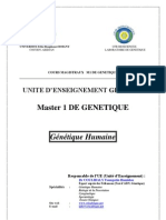 Master 1 Genetique Humaine Cours Magistral (Dr COULIBALY F.H.)2013