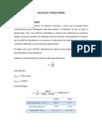 Calculos y Resultados Flujo Interno 2