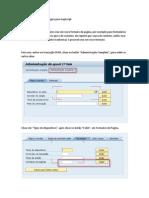 Como Criar Formato de Pc3a1gina Para Sapscript